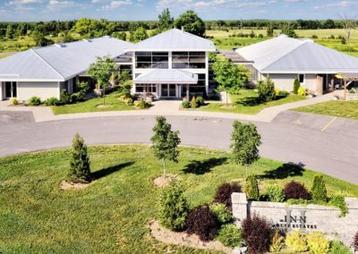 Huff Estates winery in Prince Edward County