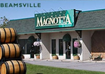 magnotta estate store and winery in beamsville ontario