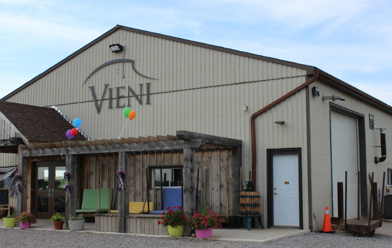 vieni estates winery expansion tour
